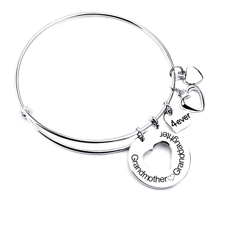 Grandmother Love Granddaughter Charm Bangle Florence Scovel