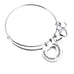 Grandmother Love Granddaughter Charm Bangle - Florence Scovel - 1