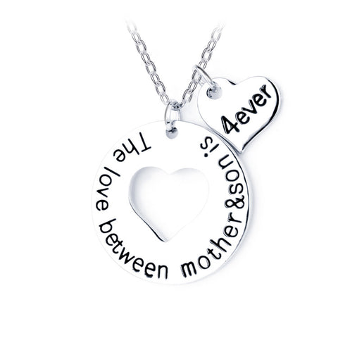 The Love between Mother & Son is 4ever Pendant - Florence Scovel