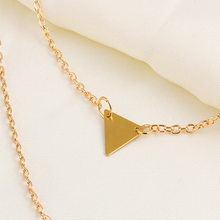 Double Layer Long Triangle Pendant - Florence Scovel - 2