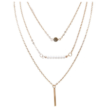 3 Multi-Layer Bar Necklace - Florence Scovel - 4