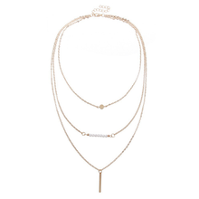 3 Multi-Layer Bar Necklace - Florence Scovel - 2