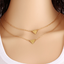 Double Layer Long Triangle Pendant - Florence Scovel - 3