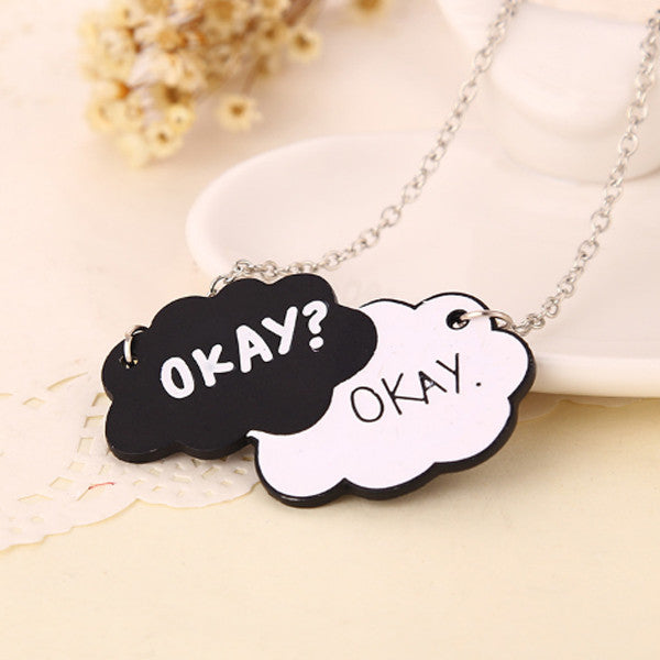 Okay Okay Tag Necklace - Florence Scovel - 2