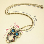 Blue Eyes Owl Pendant - Florence Scovel - 2