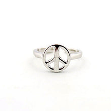 Silver Peace Toe Ring - Florence Scovel - 2
