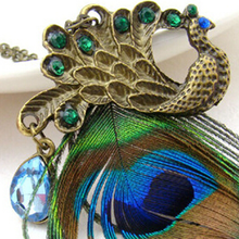 Peacock Feather Pendant - Florence Scovel - 4