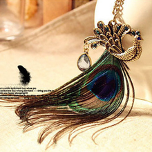 Peacock Feather Pendant - Florence Scovel - 3