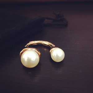 18K Pearl Ring - Florence Scovel - 2