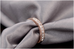 18k Rose Gold Plated Eternity Ring - Florence Scovel - 3