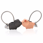 Pig Key Ring For Lovers With Free Gift Box - Florence Scovel - 1