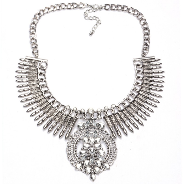 Piro Snow Tribal Necklace - Florence Scovel