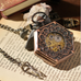 Hexlock Mechanical Pocket Watch - Florence Scovel - 4