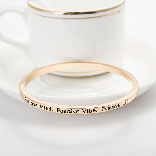 Positive Mind Bangle - Florence Scovel - 3