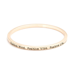 Positive Mind Bangle - Florence Scovel - 5
