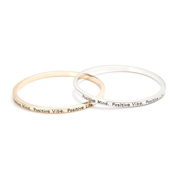 Positive Mind Bangle - Florence Scovel - 1
