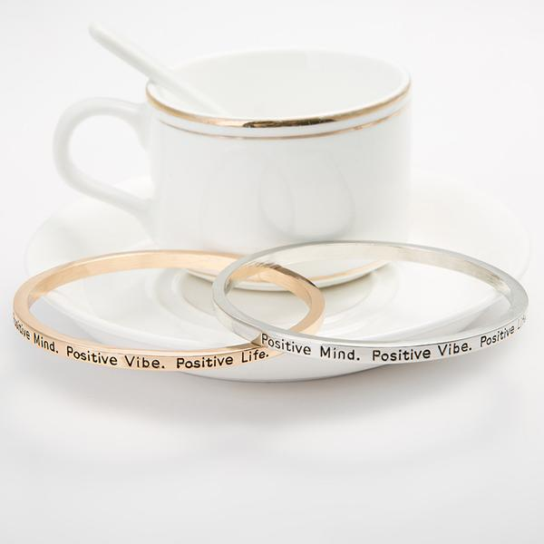 Positive Mind Bangle - Florence Scovel - 2