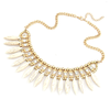 Bohemian Tassels Fringe Drop Statement Necklace - Florence Scovel - 6