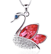 Swan Silver Plated Pendant - Florence Scovel - 2