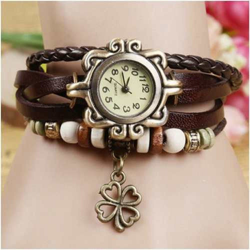 Flower Vintage Wrap Watch - Florence Scovel
