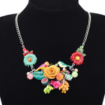 Flower Pendant Necklace - Florence Scovel - 2