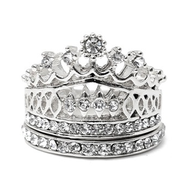 Imperial Crown Ring Set - Florence Scovel - 2