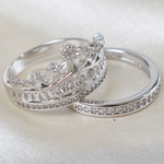 Imperial Crown Ring Set - Florence Scovel - 7