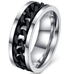 Stainless Steel Men's Chain Ring - Florence Scovel - 1