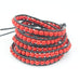 Royal Red Wrap Bracelet - Florence Scovel - 2