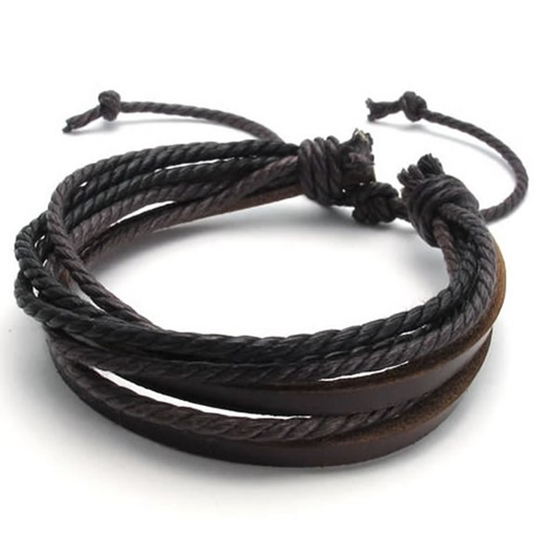 Rustic Leather Wrap Bracelet - Florence Scovel - 9