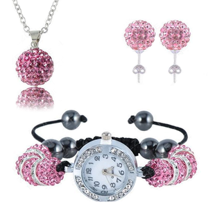 Crystal Watch Balla Pendant Set - Florence Scovel - 1