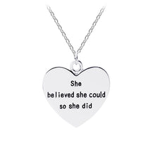 She believed she could so she did - Florence Scovel - 1