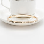 She Needed A Hero Bangle - Florence Scovel - 4