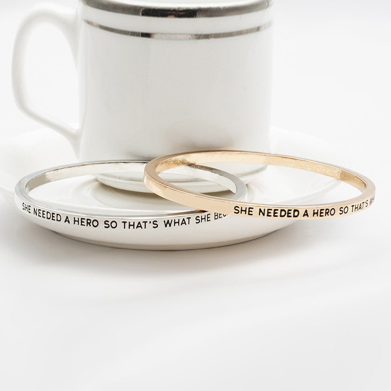She Needed A Hero Bangle - Florence Scovel - 3