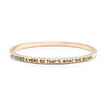 She Needed A Hero Bangle - Florence Scovel - 7