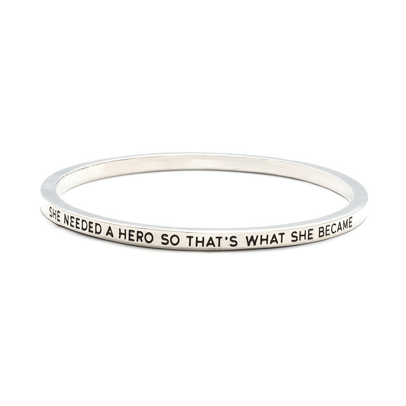 She Needed A Hero Bangle - Florence Scovel - 2