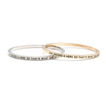 She Needed A Hero Bangle - Florence Scovel - 6