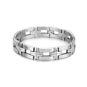 Silver Chain Stainless Steel Bracelet - Florence Scovel - 2