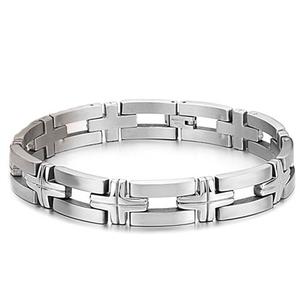 Silver Chain Stainless Steel Bracelet - Florence Scovel - 1