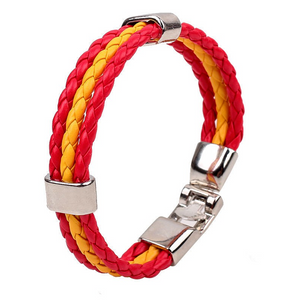 Team Spain Flag Bracelet - Florence Scovel - 3