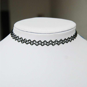 Vintage Stretch Choker Necklace - Florence Scovel - 3