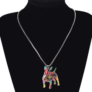 Bull Terrier Pendant Necklace - Florence Scovel - 2