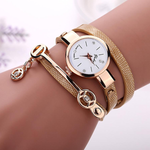 Rose Gold Charm Wrap Watch - Florence Scovel - 2