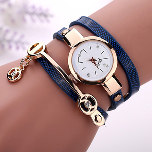 Rose Gold Charm Wrap Watch - Florence Scovel - 6