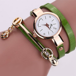 Rose Gold Charm Wrap Watch - Florence Scovel - 9