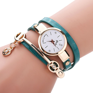 Rose Gold Charm Wrap Watch - Florence Scovel - 8