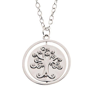 The Love Between A Mother And Daughter Is Forever Rotating Necklace