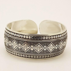 Tibetan Cuff Bangle - Florence Scovel - 2