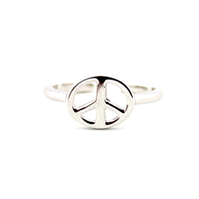 Silver Peace Toe Ring - Florence Scovel - 4