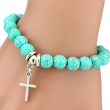 Virtuous Cross Turquoise Bracelet - Florence Scovel - 2